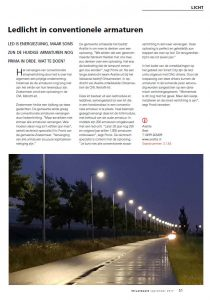 led licht in conventionele armaturen artikel straatbeeld sep 2017