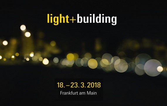 Light & Building 2018 banner